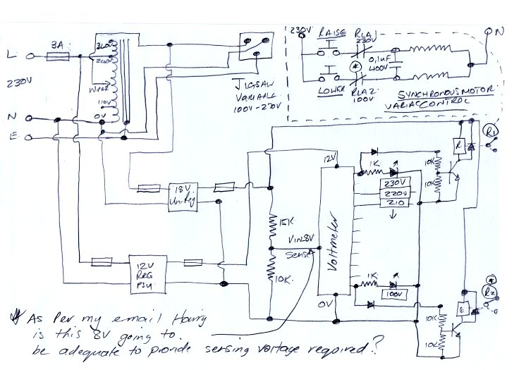 OpAmp Voltmeter Ac-volt-sensor