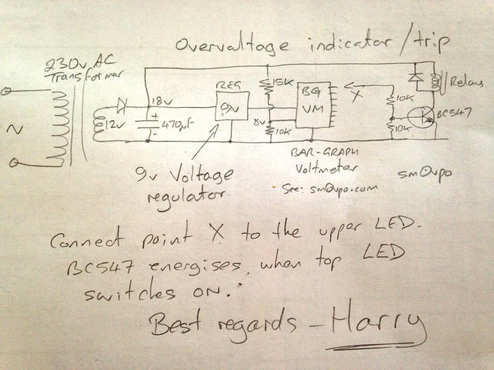 OpAmp Voltmeter Hv_sense
